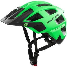 Cratoni AllSet Kask MTB, neon green/black matte
